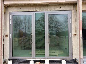 Aluminium Eingangstuer Fenster Montage Sinsheim