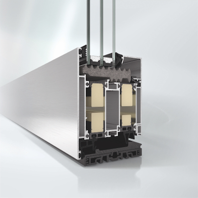 Aluminium Haustuer ADS 90 SimplySmart Profilansicht