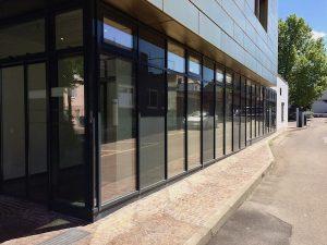 FWS 50 Schueco Glas Fassade