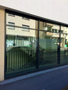 FWS 60 Schueco Glas Fassade