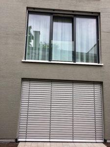 Schueco Alufenster Glas Absturzsicherung Raffstore